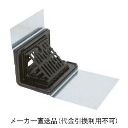 カネソウ 鋳鉄製ルーフドレイン よこ引き用 鋼製下地断熱屋根工法用 屋上用(呼称100) ※メーカー直送代引不可 EXS-6-100