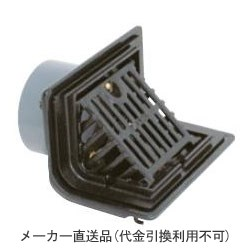 カネソウ 鋳鉄製ルーフドレン よこ引き用 打込型 屋上用 呼称125 ※メーカー直送代引不可 KXF-125