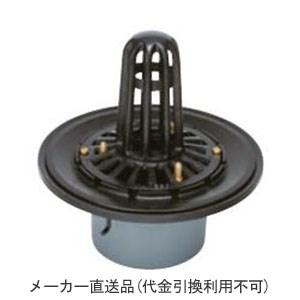 カネソウ 鋳鉄製ルーフドレイン たて引き用 打込型 屋上用(呼称125) メーカー直送代引不可 WSP-2-125
