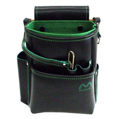 マーベル 電工ポケット(腰袋ハイクオリティ)グリーン MDP-210HG