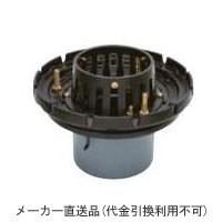 カネソウ 鋳鉄製ルーフドレイン たて引き用 打込型 外断熱用 バルコニー中継用(呼称125) ※メーカー直送代引不可 ESBW-2-125