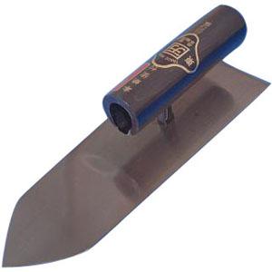 カクマン(本職用) 人造鏝 本焼 225mm 黒柄 受注生産品