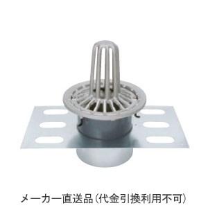 カネソウ ステンレス鋳鋼製ルーフドレイン たて引き用 デッキプレート打込型 屋上用(呼称125) ※メーカー直送代引不可 EDSMP-2-125