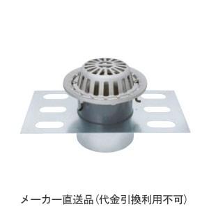 カネソウ ステンレス鋳鋼製ルーフドレイン たて引き用(呼称65) ※メーカー直送代引不可 EDSMR-1-65