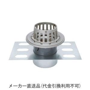 カネソウ ステンレス鋳鋼製ルーフドレイン たて引き用(呼称125) ※メーカー直送代引不可 EDSSB-1-125