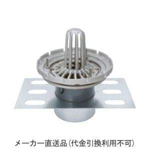 ステンレス鋳鋼製ルーフドレイン たて引き用(呼称50) ※メーカー直送代引不可 カネソウ EDSSPW-1-50