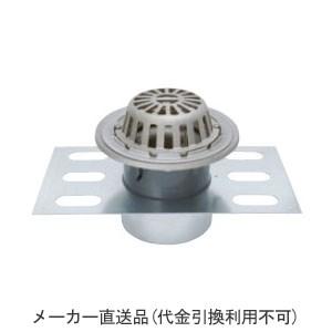 カネソウ ステンレス鋳鋼製ルーフドレイン たて引き用(呼称125) ※メーカー直送代引不可 EDSSR-1-125