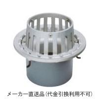 カネソウ ステンレス鋳鋼製ルーフドレイン たて引き用 打込型 バルコニー中継(呼称100) ※メーカー直送代引不可 ESMB-1-100