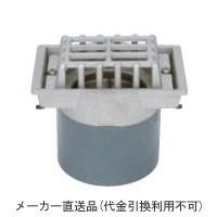 ステンレス鋳鋼製ルーフドレイン たて引き用 打込型(呼称75) メーカー直送代引不可 カネソウ ESMD-2-75
