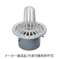 カネソウ ステンレス鋳鋼製ルーフドレイン たて引き用 打込型 屋上用(呼称125) ※メーカー直送代引不可 ESMP-2-125