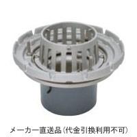 ステンレス鋳鋼製ルーフドレイン たて引き用 打込型 外断熱用 バルコニー中継(呼称125) ※メーカー直送代引不可 カネソウ ESSBW-1-125