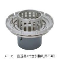 カネソウ ステンレス鋳鋼製ルーフドレイン たて引き用 打込型 外断熱用 バルコニー中継(呼称125) ※メーカー直送代引不可 ESSBW-2-125
