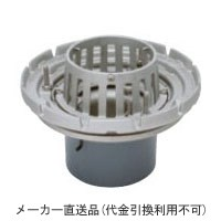 カネソウ ステンレス鋳鋼製ルーフドレイン たて引き用 打込型 外断熱用 バルコニー中継(呼称200) ※メーカー直送代引不可 ESSBW-2-200