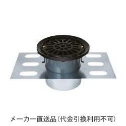 カネソウ 鋳鉄製ルーフドレイン たて引き用 デッキプレート打込型 廊下用 踊場用(呼称150) ※メーカー直送代引不可 EDMF-1-150
