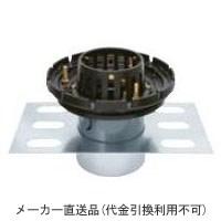カネソウ 鋳鉄製ルーフドレイン たて引き用 デッキプレート打込型 外断熱用 バルコニー中継用(呼称150) ※メーカー直送代引不可 EDSBW-1-150