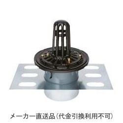 カネソウ 鋳鉄製ルーフドレイン たて引き用 デッキプレート打込型 屋上用(呼称150) ※メーカー直送代引不可 EDSP-2-150