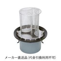 鋳鉄製ルーフドレイン たて引き用 打込型 集塵機能付(呼称100) ※メーカー直送代引不可 カネソウ EMPQ-2-100