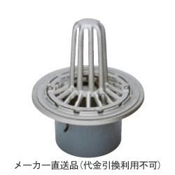 ステンレス鋳鋼製ルーフドレイン たて引き用 打込型 屋上用(呼称125) ※メーカー直送代引不可 カネソウ ESSP-2-125