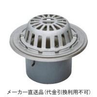 カネソウ ステンレス鋳鋼製ルーフドレイン たて引き用 打込型 バルコニー 庇・屋上用(呼称150) ※メーカー直送代引不可 ESSR-2-150