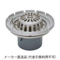 ステンレス鋳鋼製ルーフドレイン たて引き用 打込型(呼称65) メーカー直送代引不可 カネソウ ESSRW-1-65