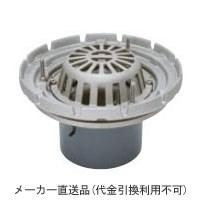 ステンレス鋳鋼製ルーフドレイン たて引き用 打込型(呼称100) ※メーカー直送代引不可 カネソウ ESSRW-2-100