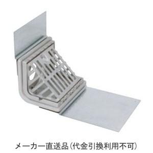 カネソウ ステンレス鋳鋼製ルーフドレイン よこ引き用 鋼製下地断熱屋根工法用 屋上用(呼称125) ※メーカー直送代引不可 ESXC-6-125