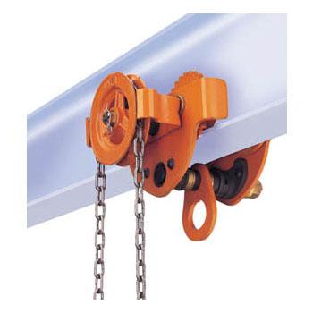 バイタル工業 バイタル ギヤードトロリー(ドロップストップ)1ton(取寄せ品) AGD-10
