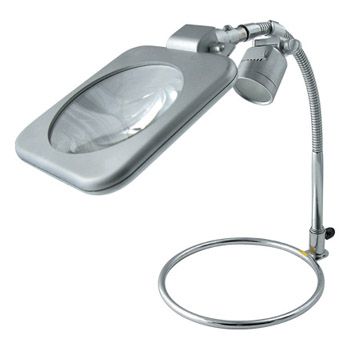 TSK スタンド式レンズLEDライト付き 220K-LED RX-220K-LED