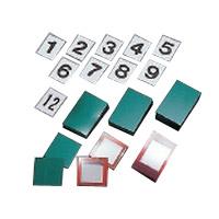 日本緑十字社 無災害記録板 オプションパーツ 記録-900用札 1組 229902