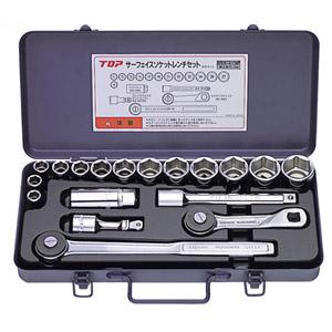 TOP サーフェイスソケットレンチセット(差込角12.7mm)SSS-413F SSS-413F