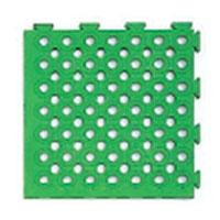 日本緑十字社 ソフトチェッカーマット S 緑 32枚 2平方m 1組 受注生産 メーカー直送品 296051