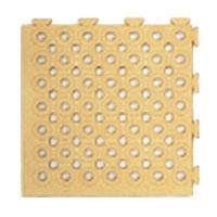 日本緑十字社 ソフトチェッカーマット S ベージュ 32枚 2平方m 1組 受注生産 メーカー直送品 296053