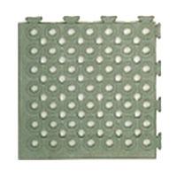 日本緑十字社 ソフトチェッカーマット S グレー 32枚 2平方m 1組 受注生産 メーカー直送品 296054