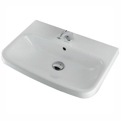 カクダイ 壁掛洗面器 1ホール #DU-2319650000