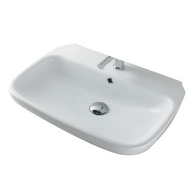 カクダイ 角型洗面器 W120×D260mm 8L ※受注生産品 #LY-493206