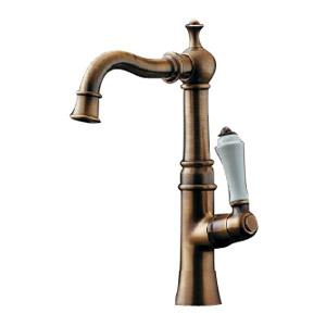 カクダイ 立水栓(オールドブラス) 90度開閉ハンドル 700-738-13