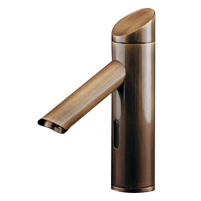 カクダイ センサー水栓(オールドブラス) 713-333