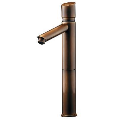 カクダイ 自閉立水栓(トール・オールドブラス) 716-319-13