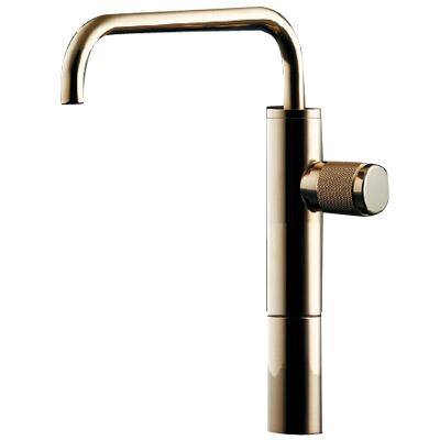 カクダイ 立水栓(トール・クリアブラス) 90度開閉ハンドル 721-225-13