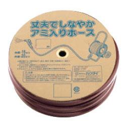 カクダイ リサールホース ブラウン 1巻の長さ50m 597-516-50
