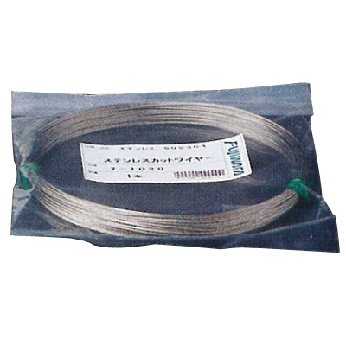 ステンレスカットワイヤロープ 7×19 8.0mm×80m フジワラ 19-8080