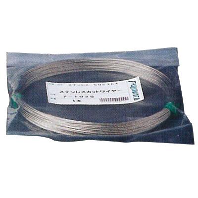 ステンレスカットワイヤロープ 7×7 6.0mm×50m フジワラ 7-6050