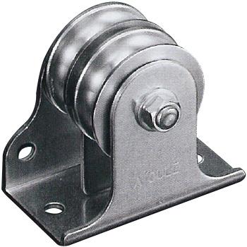 フジワラ 固定ブロック タテ型 ・ヨコ型兼用タイプ 2車 39mm K39-11B