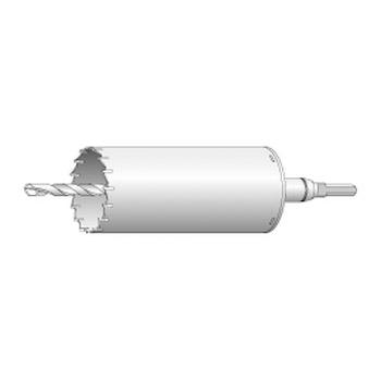 ユニカ ES単機能コアドリル 振動用 VCタイプ ストレートシャンク 口径130×全長269 ES-V130ST
