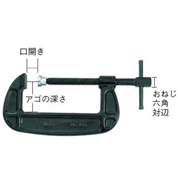 SUPER TOOL シャコ万力(バーコ型) 200mm BC-200