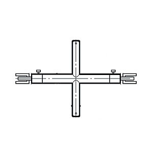 Vクイッククロスバーシングル19径 595mm APゴールド VQXS-19-2525 ロイヤル VQXS-19-2525