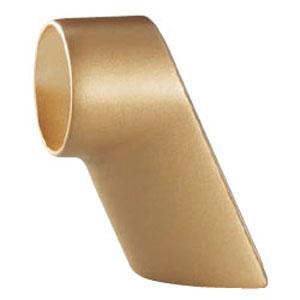 シロクマ フォルムブラケットエンド サイズ35 ソフトゴールド 1箱10個価格 ※メーカー取寄品 BR-675
