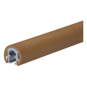 スマートラインP丸棒 3000mm ダークブラウン 1本価格 ※メーカー直送品 シロクマ BR-735P