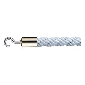 シロクマ パーティションロープ 径25×1200mm 金・シルバー 1本価格 ※メーカー取寄品 FPR-25C