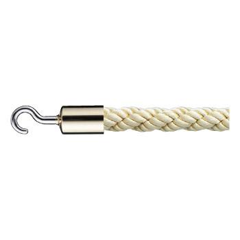 シロクマ パーティションロープ 径25×1800mm 金・ゴールド 1本価格 ※メーカー取寄品 FPR-25C
